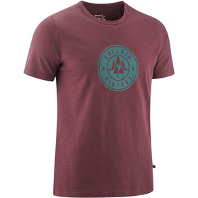 Edelrid Highball IV T-Shirt Heren, aubergine